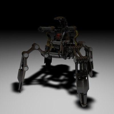 3d robotic guard