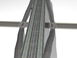 highway ramp 3d 3ds