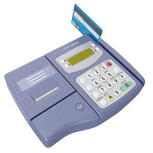 pos card reader machine 3d model