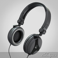 dj headphone 3d model