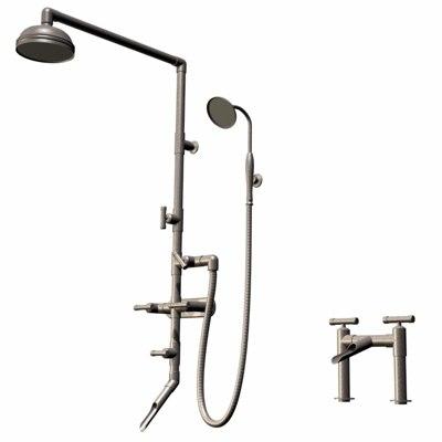 3d shower sink sonoma model