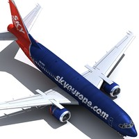 737 400 3d x