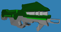 spartan laser 3d model