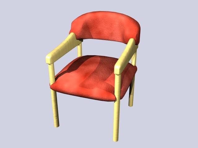 3d soft office chair