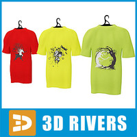 T-shirt set by 3DRivers