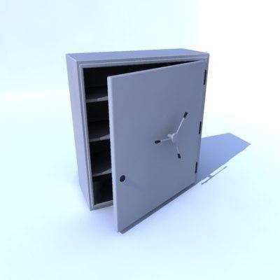 3d model safe
