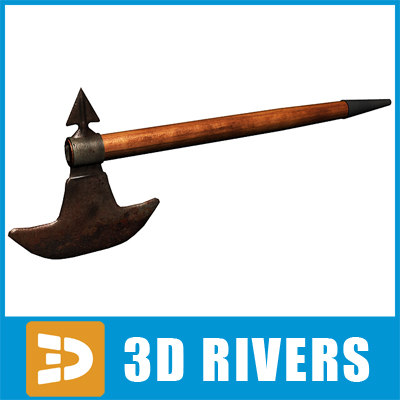 tomahawk axe native 3ds