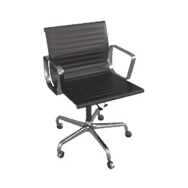 chairs office 3d 3ds