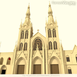 catedral 3d model