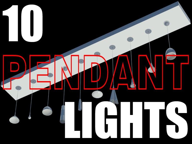 max 10 pendant lights