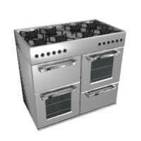 3d model stove oven