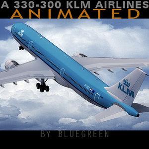 airbus a330-300 plane klm max