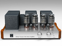 hi-fi tube amplifier 3d model
