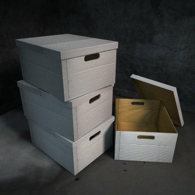 c4d filing box