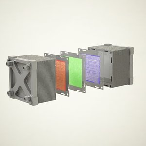 3d fuel cell