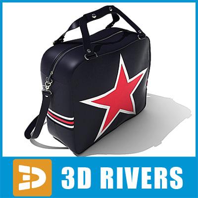 teenage bag 3d model