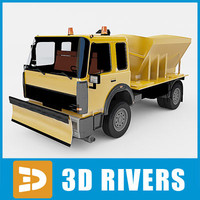 3d snow removal machine