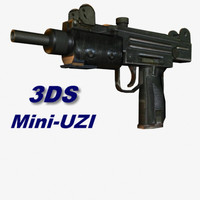 Machine Gun Mini UZI