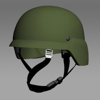 usmc helmet 3d model
