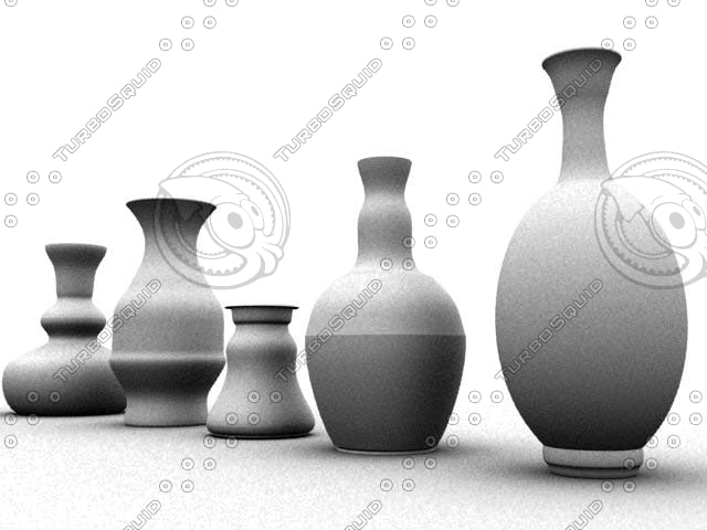 3dsmax vases
