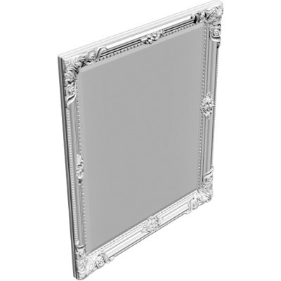 3d obj wall mirror