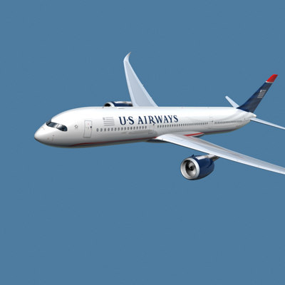 a350-900 airways 3d model