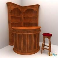 Set of bar furniture for home