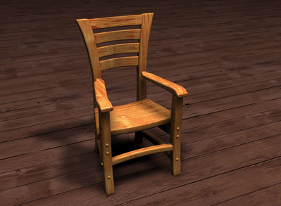 wood chair ma