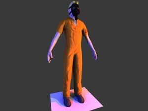 free prisoner gas mask 3d model