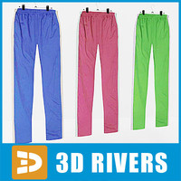 sweatpants set clothes 3ds