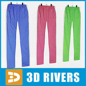 sweatpants set clothes 3ds