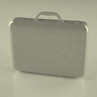 3d model suitcase suit