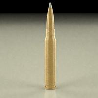 3d model bullet