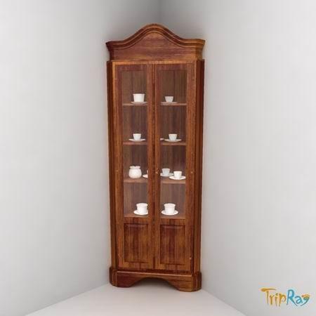 3d Kitchen Cabinet Crockery Model