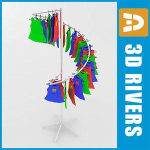 maya retail clothing rack kids