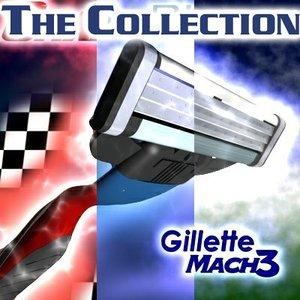 mach3 gillette 3d model