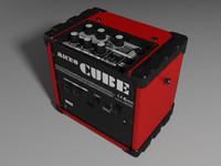 roland micro cube 3d model