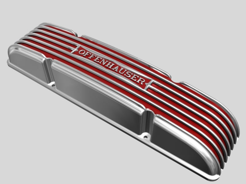 3d dxf early offenhauser valve cover