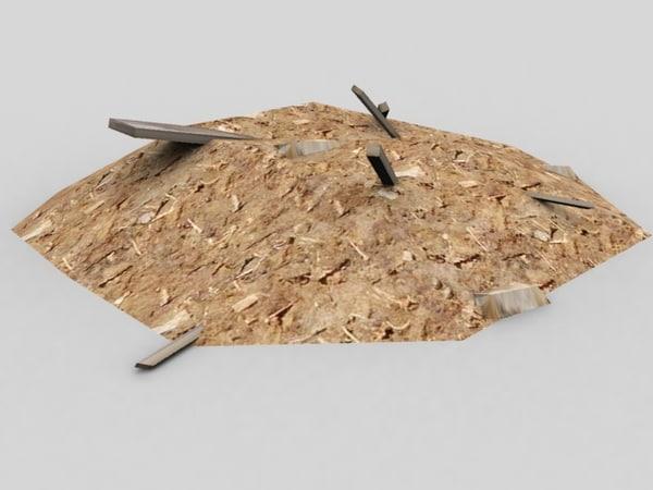 3ds max sawdust waste