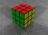 3d rubick s cube model