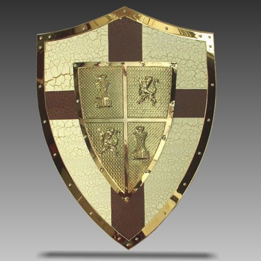 3d model medieval shield