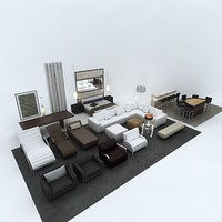 3ds max residential furniture package