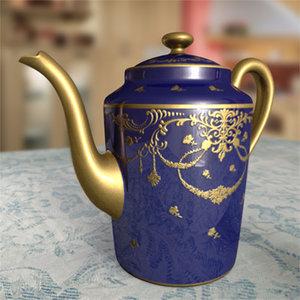 maya french sevres teapot