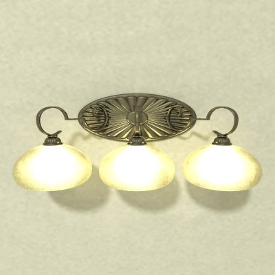 3ds lamp vanity light b