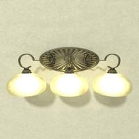 3ds lamp vanity light b