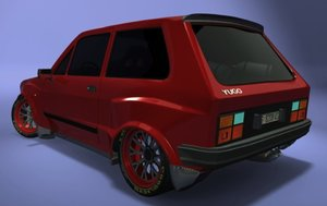 3ds max yugo racing