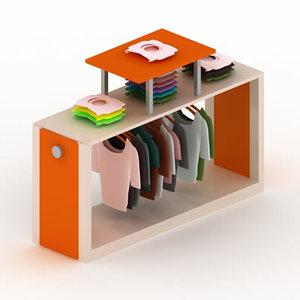 3d display rack cabinet