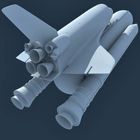 3d model nasa space shuttle