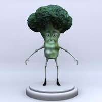 Broccoli Character Model