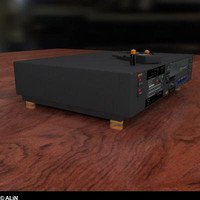 free 3ds model vcr tv video